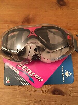 Aqua Sphere Seal XP 2 Lady Goggles White/Red Smoked