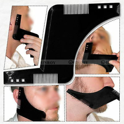 Beard Template Comb for Shaping & Styling by Primal Double Sided Shaper Tool EN
