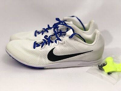 online retailer c5b8c 1664a Nike Zoom Rival D 9 Mens Distance Racing Track Spikes 806556-100 Size 12.5
