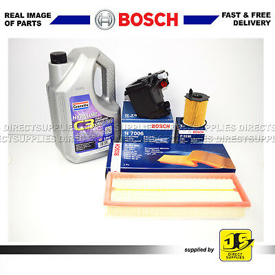 Bosch Service Kit Citroen C4 Grand Picasso 1.6 Hdi Oil Air Fuel Filters Dv6Ted4