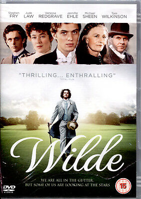 WILDE (Jude Law) - DVD NUOVO E SIGILLATO, IMPORT CON AUDIO IN ITALIANO,RARO!