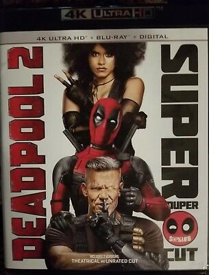Deadpool 2 Super Duper Edition 4K Ultra Hd / Blu-Ray