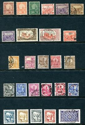 Tunisia  1906 - 1940 Used and Unused Lot