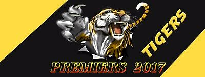 RICHMOND TIGERS Banner -  Man Cave Work Shop Garage Shed Bar Whisky AFL FOOTY