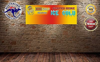 XXXX GOLD MANCAVE BANNER Work Shop Garage Shed Bar Whisky PERSONAL NAME