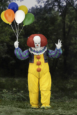 NECA It Ultimate Pennywise 1990 Version Figure - Stephen King