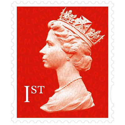 50 x 1st Class Royal Mail Stamps, Easy Peel and Stick , self-Adhesive UNUSED