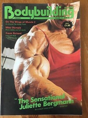 Bodybuilding Monthly, February 1987, Walter O'Malley on the cover