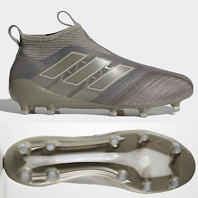 pretty nice 518bc 7303c adidas Ace 17+ Purecontrol FG Mens Football Boots Cleats Brown Laceless RRP  £250