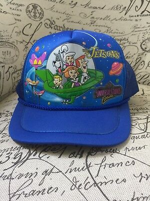 VTG 90's The Jetsons SnapBack Hat Universal Studios Youth Space Taiwan Disney