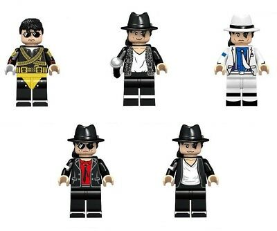 Michael Jackson Mini figures 5 pieces set