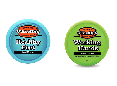 O'Keeffe's Working Hands Hand Foot Cream Set Cracked Split Skin Non-Greasy -FAME