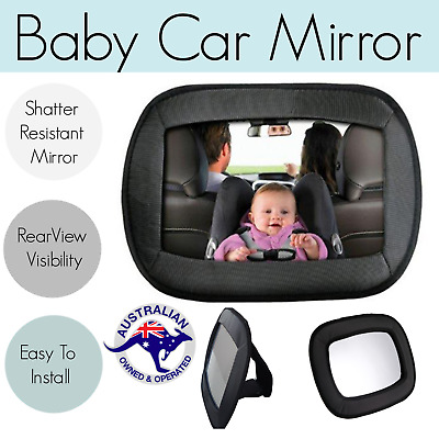 Car Baby Child Seat Mirror Rearview Rear Facing Backseat Safety Rear Ward Facing