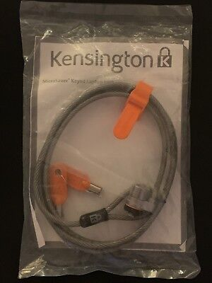 Genuine Kensington K64068F Microsaver Keyed Laptop/Notebook Lock - New (Sealed)