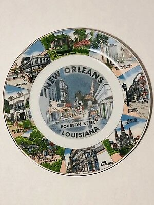 Decorative Plate New Orleans Louisiana Wall Decor