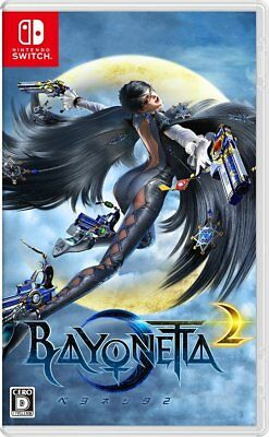 Nintendo Switch BAYONETTA 2 Japan Game Region Free Japanese