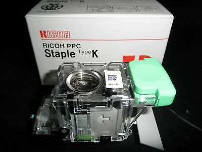 Genuine Ricoh PPC Staple Type K 410801 Cartridge Assembly contains 5,000 staples