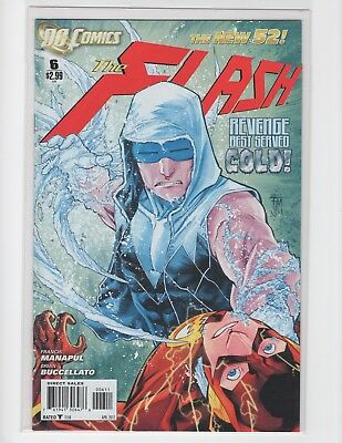 """The Flash """"Revenge Best Served Cold"""" Comic Book 2012"""