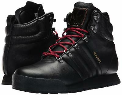 c78e53c78ff ADIDAS ORIGINALS JAKE Blauvelt G56462 Men's Black Leather Boots Sz 10 M  Shoes