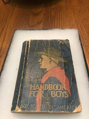 Vintage Handbook for Boys- Boy Scouts of America- First Edition (1916) 1938