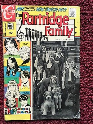 The Partridge Family Comic Book #1 No. 1 1971 GREAT CONDITION