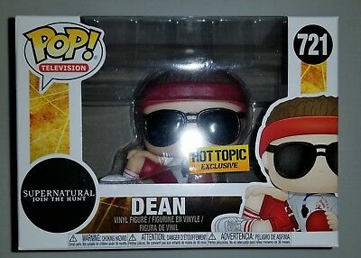 Funko Pop! Television Supernatural Dean Hot Topic Exclusive #721 -NEW IN STOCK-