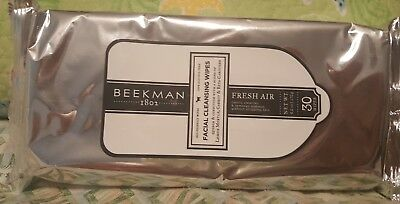 Beekman 1802 Facial Cleansing Wipes-FRESH AIR-AMAZING WIPES&FRAGRANCE!!