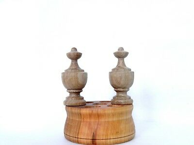 Wood Finial For Ansonia Triumph, New Haven Occidenta 2 pieces