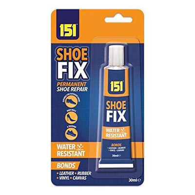 Shoe Boot Fix Repair Glue Adhesive Waterproof Bond Leather Canvas Rubber Vinyl