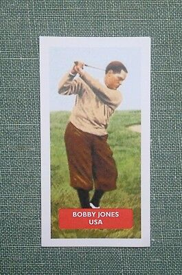 Golf - USA - BOBBY JONES - Score UK trade card