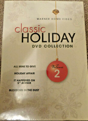 Warner Bros. Holiday Collection Vol. 2 (DVD, 2008, 4-Disc Set) Brand New! Sealed