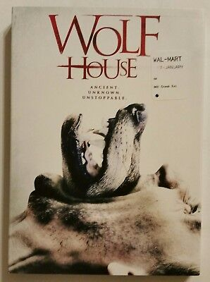 WOLF HOUSE (2017, DVD w/Slipcover) *Jessica Bell* SHIPS FAST Mon-Sat!