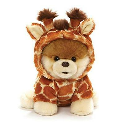 "Gund Boo the Dog Giraffe 9"" Worlds Cutest Dog 4061294"