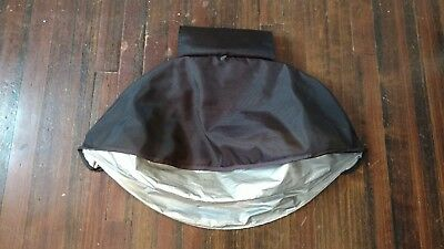 UPPAbaby Vista (2015-Later) Replacement Sun Shade Canopy Fabric - Jake / Black