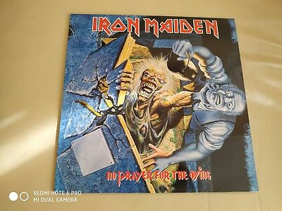 Lp Iron Maiden No Prayer For The Dying Vinyl Spanish Press Heavy Metal
