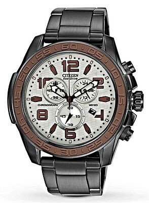 Citizen Eco Drive - Men's BRT Gray Dial Chronograph Watch - AT2278-58H