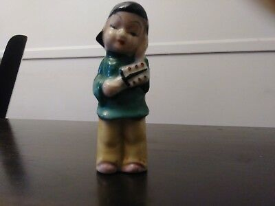 Vtg Made in Occupied Japan Decorative Small Oriental Girl Figurine