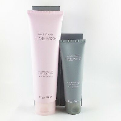 Mary Kay TimeWise Age Minimize 3D™ 4 in 1 Cleanser & Night Cream, Neu & OVP