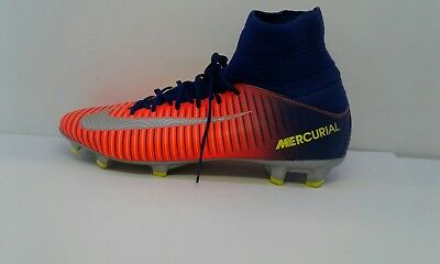 f628879c4 Nike Mercurial Superfly V FG Football Boots Multicolour Boys Size Uk Junior  5.5