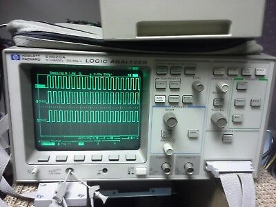 HP 54620A Logic Analyzer with Cable! TESTED 16 Channels 54620-61601 Front Cover