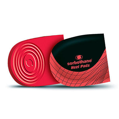 Sorbothane Shock Stopper Heel Pad Insoles Cushioned Foot & Back Pain Relief