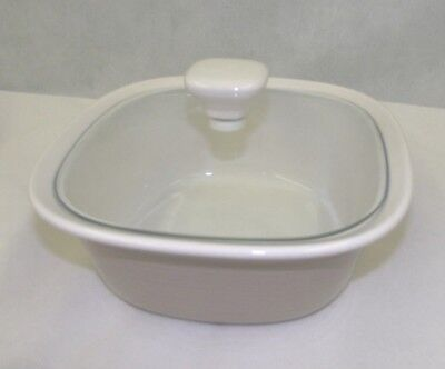 Corning Ware 'Etch' 1.5 qt Square Roaster Casserole Dish with Handles & Lid