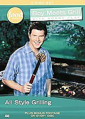 Boy Meets Grill - Bobby Flay  Volume One  (2007, 3-DVD's) *NEW* SHIPS MON-SAT!