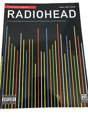 Radiohead Sheet Music Piano Vocal Guitar Song Book