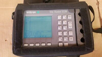 Wiltron SiteMaster S330 Passes Self Test!