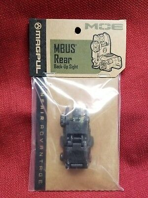 Magpul MBUS Gen 2 Flip-Up Rear Sight Polymer Black