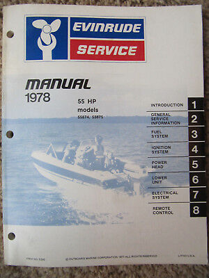 the ignition wiring diagram for evinrude 55hp model 55875s wiring  1978 evinrude 2 hp 2802 outboard service manual $11 16 picclick the ignition wiring diagram for evinrude 55hp model 55875s