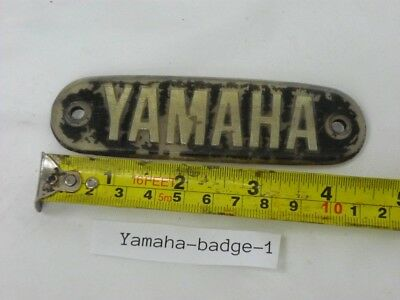 Yamaha badge, tank fits unknown 1970