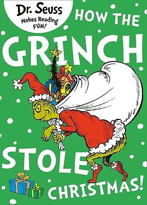 How the Grinch Stole Christmas by Dr. Seuss New Paperback Book