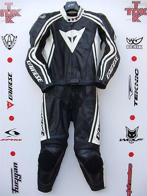 Dainese Stripes 2 piece race suit without hump uk 38 euro 48